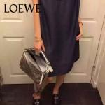 Loewe-051-07 專櫃時尚新款loewe puzzle mini系列原版小牛皮手提斜挎包