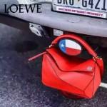 Loewe-050-06 專櫃時尚新款loewe puzzle系列原版小牛皮手提斜挎包