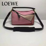 Loewe-050-012 專櫃時尚新款loewe puzzle系列原版小牛皮手提斜挎包