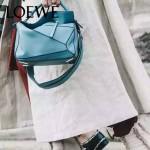 Loewe-050-02 專櫃時尚新款loewe puzzle系列原版小牛皮手提斜挎包