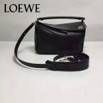 Loewe-051-01 專櫃時尚新款loewe puzzle mini系列原版小牛皮手提斜挎包