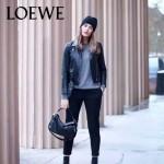 Loewe-050-09 專櫃時尚新款loewe puzzle系列原版小牛皮手提斜挎包