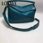 Loewe-051-03 專櫃時尚新款loewe puzzle mini系列原版小牛皮手提斜挎包