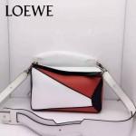 Loewe-051-06 專櫃時尚新款loewe puzzle mini系列原版小牛皮手提斜挎包