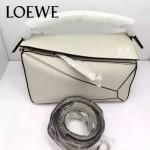 Loewe-051-08 專櫃時尚新款loewe puzzle mini系列原版小牛皮手提斜挎包