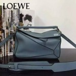 Loewe-051 專櫃時尚新款loewe puzzle mini系列原版小牛皮手提斜挎包