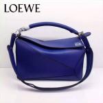 Loewe-050-011 專櫃時尚新款loewe puzzle系列原版小牛皮手提斜挎包