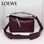 Loewe-051-09 專櫃時尚新款loewe puzzle mini系列原版小牛皮手提斜挎包