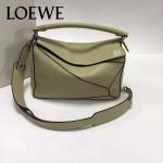 Loewe-050-03 專櫃時尚新款loewe puzzle系列原版小牛皮手提斜挎包