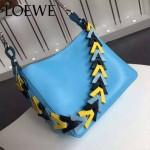 Loewe-054-02 名媛必備時尚新款彩帶系列女士購物袋