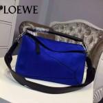 Loewe-059-03 專櫃時尚爆款puzzle large bag系列磨砂皮手提單肩包