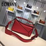 Loewe-058-03 專櫃時尚新款puzzle large bag系列小號手提單肩包