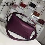 Loewe-057 專櫃時尚新款puzzle large bag系列女士手提單肩包