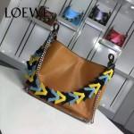 Loewe-054-03 名媛必備時尚新款彩帶系列女士購物袋