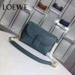 Loewe-055 名媛必備時尚新款進口牛皮單肩斜背包