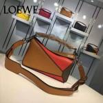 Loewe-058 專櫃時尚新款puzzle large bag系列小號手提單肩包