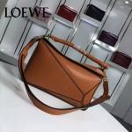 Loewe-057-01 專櫃時尚新款puzzle large bag系列女士手提單肩包
