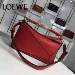 Loewe-057-02 專櫃時尚新款puzzle large bag系列女士手提單肩包