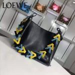 Loewe-054 名媛必備時尚新款彩帶系列女士購物袋