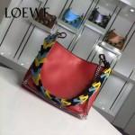 Loewe-054-04 名媛必備時尚新款彩帶系列女士購物袋