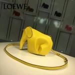 Loewe-052-05 專櫃時尚新款Elephant Mini bag系列小象包