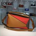 Loewe-057-09 專櫃時尚新款puzzle large bag系列女士手提單肩包
