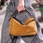 Loewe-059-01 專櫃時尚爆款puzzle large bag系列磨砂皮手提單肩包