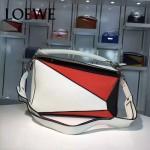 Loewe-057-08 專櫃時尚新款puzzle large bag系列女士手提單肩包