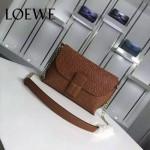 Loewe-055-02 名媛必備時尚新款進口牛皮單肩斜背包