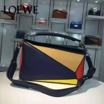 Loewe-057-07 專櫃時尚新款puzzle large bag系列女士手提單肩包