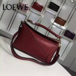 Loewe-057-011 專櫃時尚新款puzzle large bag系列女士手提單肩包
