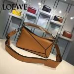 Loewe-058-04 專櫃時尚新款puzzle large bag系列小號手提單肩包