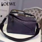 Loewe-059 專櫃時尚爆款puzzle large bag系列磨砂皮手提單肩包