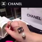 CHANEL飾品-044 名媛必備單品經典款雙C滴油珍珠項鏈