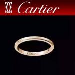 CARTIER飾品-01 專櫃最新男女款18k工藝銀色/土豪金戒指