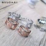 Bvlgari飾品-05 專櫃爆款劉美人同款925純銀鑲鑽白金/玫瑰金耳環