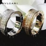 Bvlgari飾品-016 潮流爆款女士經典款雙排鑽戒指