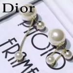 DIOR飾品-05 時尚新款經典款電鍍18k兩用大小珍珠耳釘