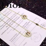 DIOR飾品-09-2 專櫃新款幸運之星925純銀高碳鉆電鍍18k白色項鏈手鏈