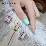 Bvlgari飾品-019 潮流百搭新款經典款925純銀滿鑽彈簧項鏈