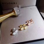 Bvlgari飾品-014 歐美百搭新款經典款羅馬數字白色陶瓷耳釘