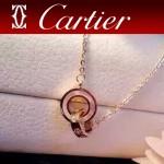 CARTIER飾品-08 人氣熱銷單品經典款螺絲雙環項鏈