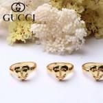 GUCCI飾品-07 專櫃新款女士蜜蜂系列18k桃心戒指