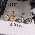DIOR飾品-06 歐美百搭流行鏤空設計大小珍珠耳釘
