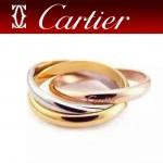 CARTIER飾品-015 時尚熱銷單品經典款三環戒指