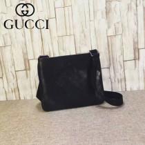 Gucci 201538-02 潮流時尚經典款男士斜跨小包