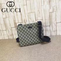 Gucci 201538-01 潮流時尚經典款男士斜跨小包