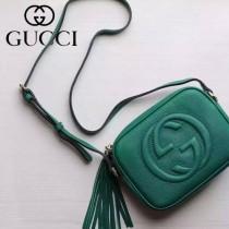 Gucci 308364-05 人氣熱銷時尚款Soho Disco流蘇皮斜跨包經典款相機包