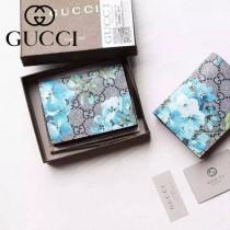 Gucci 410088 專櫃新款塗鴉花色系列卡包
