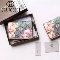 Gucci 410088-02 專櫃新款塗鴉花色系列卡包